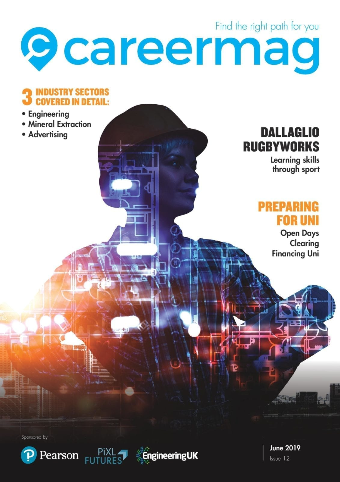 Check out the next issue of Careermag. Covering Engineering, mineral extraction, advertising as well as how to prepare for University. Out 11th November.