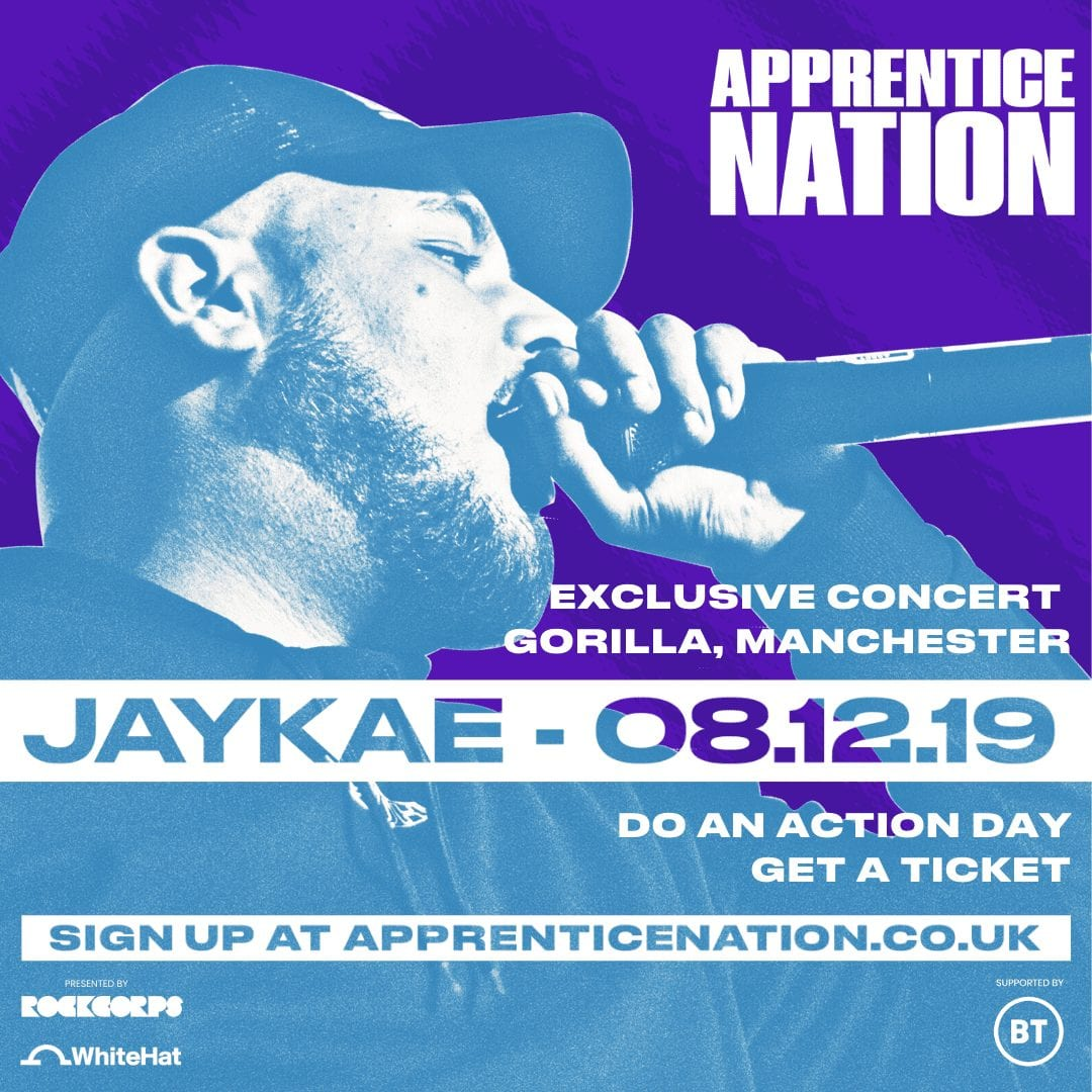 Jaykae, live in Manchester for an exclusive concert with Manchester.